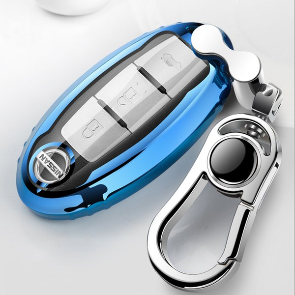 Patent TPU Car Auto Remote Key Case Cover Shell for Infiniti Nissan Sunny/Teana/X-Trail/Livina/Sylphy Car Accessories Styling