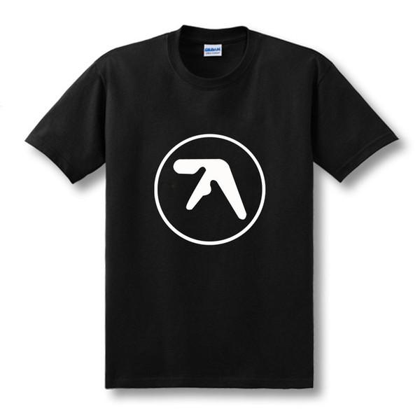Fashion New Mens Aphex Twin T Shirt Popular Brand Aerosmith Tshirts Printed O Neck Music Short Sleeve Top Tees Size XS-XXL