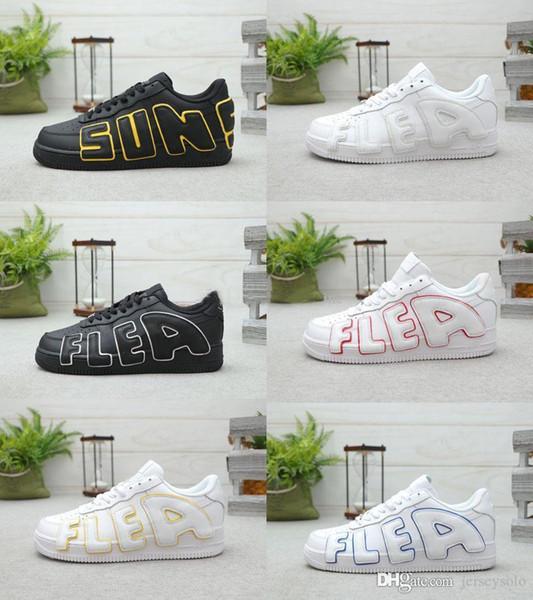 2020 di alta qualità CPFM forzata 1 07 Flea Soli Uomini Donne Casual Shoes Di Joe 1s pianta del cactus Flea Market Formato dei pattini 36-45