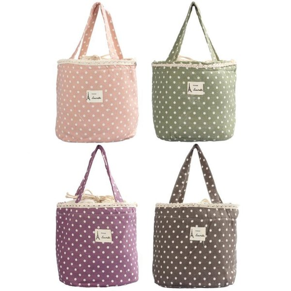 Ishowtienda For Women Ladies Thermal Insulated Box Tote Cooler Bag Bento Pouch Lunch Container Bolsa Feminina C19021301