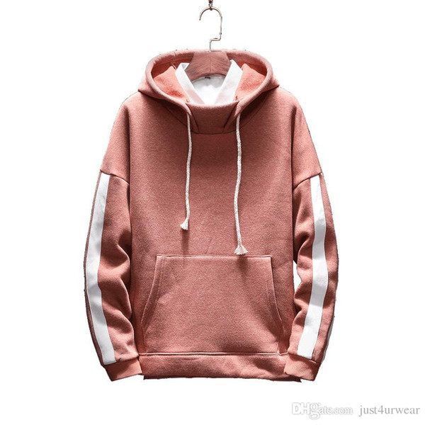 Autunno Designer Felpe Hip Hop rosa a maniche lunghe con cappuccio Hoody Mens magliette felpate Plus Size