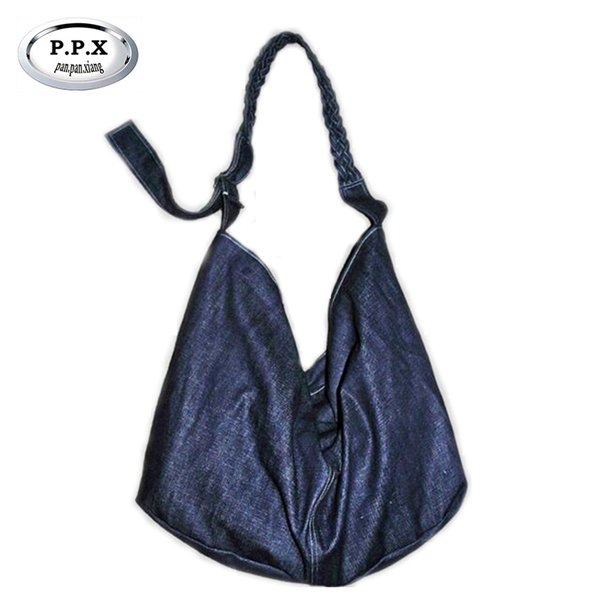 2017 New Original Cowboy Fashion Lady Single Shoulder Bag Brand Hand-Woven Ladies Casual Bag European American Lady B342 #205944
