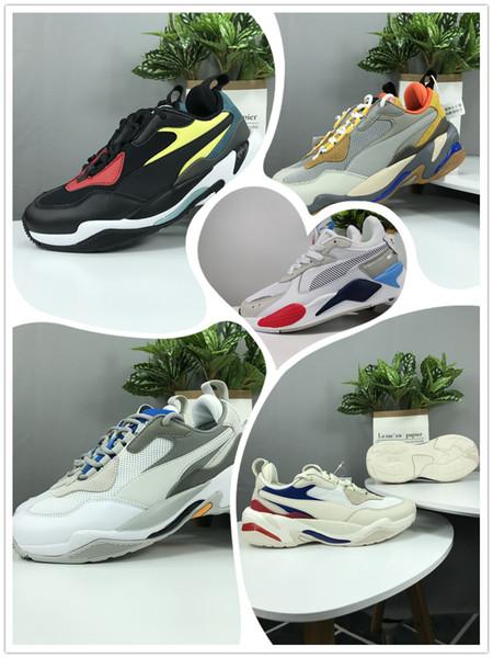 Männer Frauen Triple s RS-X Reinvention Freizeitschuhe System Weiß Schwarz Blau Rot Gelb Papa Schuhe Athletic Fashion SneakersPuma