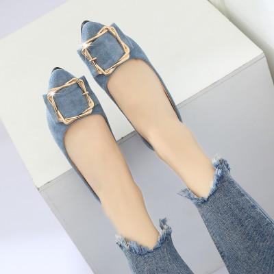 Kadın moda bezelye ayakkabı ile düz yüksek kalite ücretsiz kargo