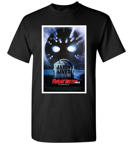 Jason Lives Friday The 13th Kill Or Be Killer T-Shirt Divertente spedizione gratuita Maglietta casual unisex