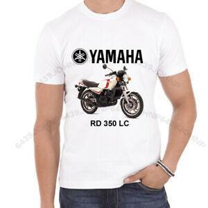 RD 350 LC Marchio di Qualità Sublimated Vintage Bike T-shirt Hip hop