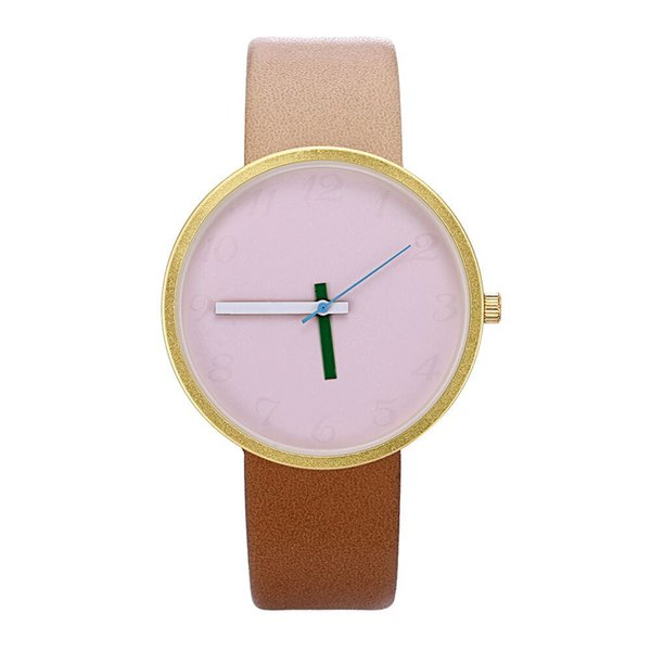 Classic color matching strap digital dial strap watches for boys and girls high-quality Shi Ying decorative watches