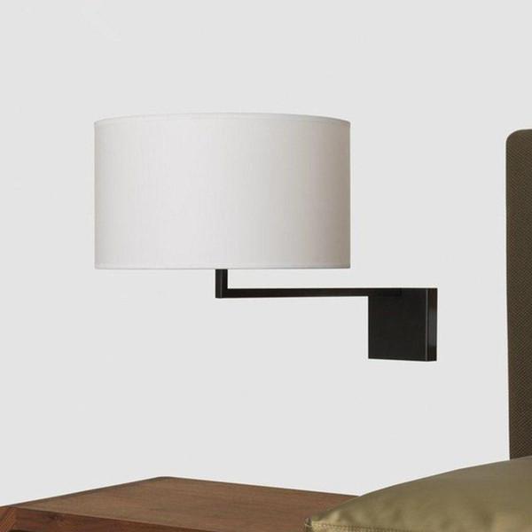 sconce panno unico di disegno moderno LED lampada da parete a parete Luce Corridoio Camera da letto Comodino Luce Illuminazione Fixtures Lustres