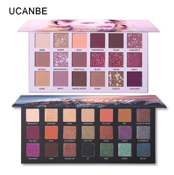 2pcs/lot Best Selling Eye Shadow Palette Makeup Set Glitter Shimmer Matte NUDE Pigment Smoky Eyeshadow Cosmetics