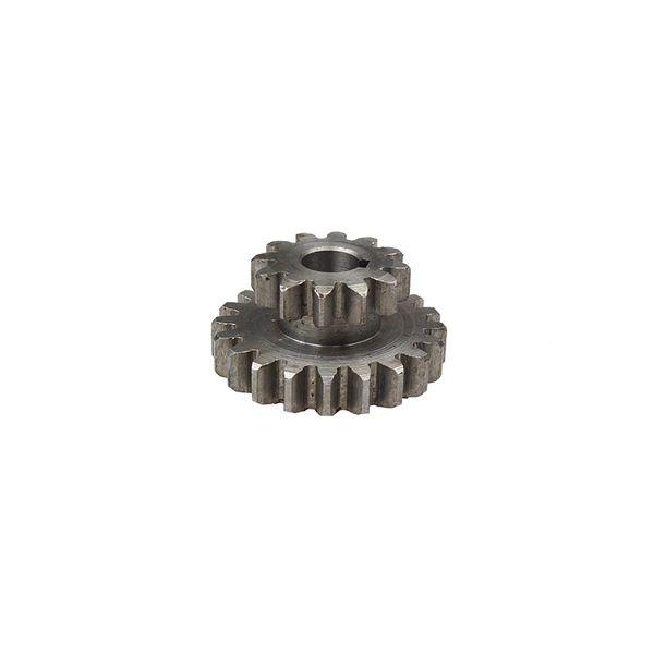 2pcs/set 0618 lathe gears, T29xT21&T20xT12 Dual Dears Metal Lathe Gears Double gear