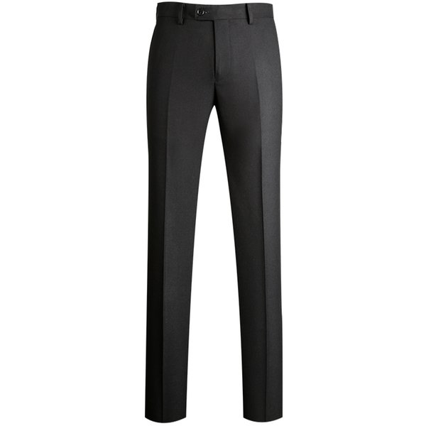 2019 Brand New High Quality Men's Formal Business Meeting Suit Wear Zipper Fly Pants Wrinkle-Resistant Suit Pants for Men