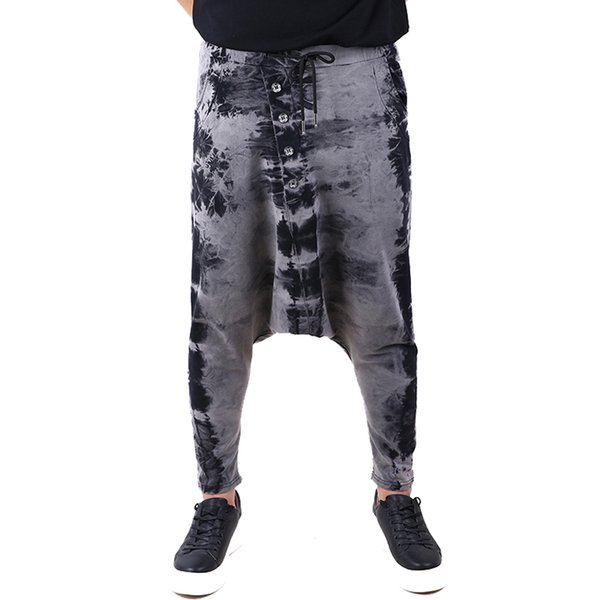 2019 hip hop men pantalones hombre high street kpop casual cargo pants streetwear joggers modis trousers Drop Shipping ABZ223