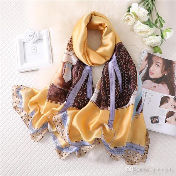 beautiful  silk soft long scarf wrap shawl beach towel 100/% silk.