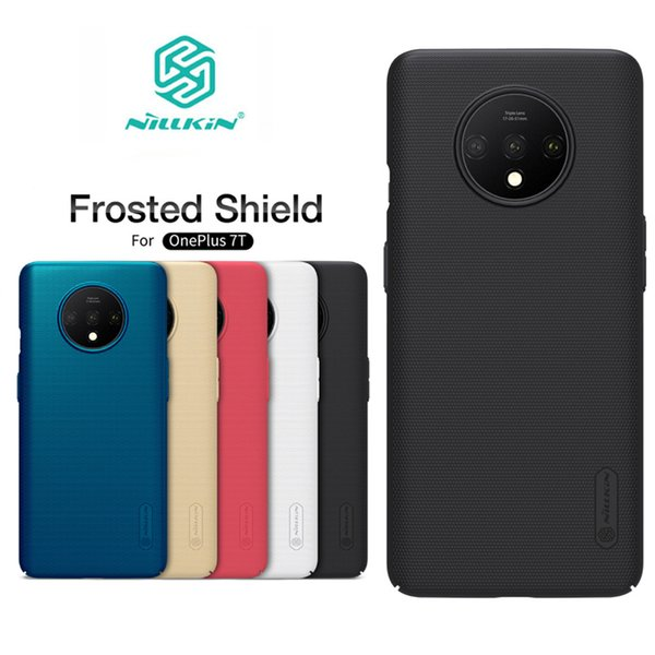 For Oneplus 7T Cover Nillkin Frosted Shield PC Hard Back Cover for Oneplus 7T Pro Phone Case One plus 7T Pro