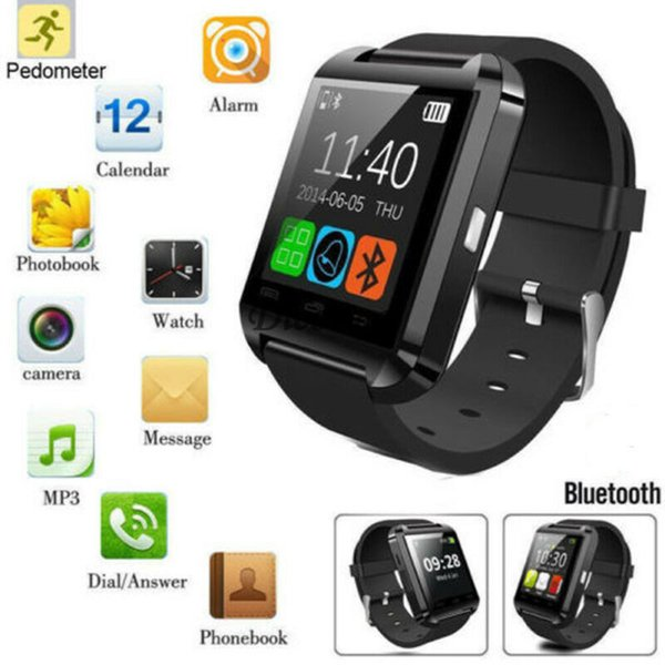 Bluetooth poignet intelligent Watch Phone Mate pour iPhone IOS Android Samsung HTC LG Montres Wear Horloge Wearable Appareil Smartwatch