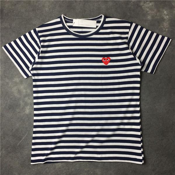 Mehrjährige ja Fracht-Gezeiten-Spiel-Liebes-Streifen-T-Shirt Männer und Frauen-Liebhaber-Freizeit-T-Shirts Kurzschluss-Hülse
