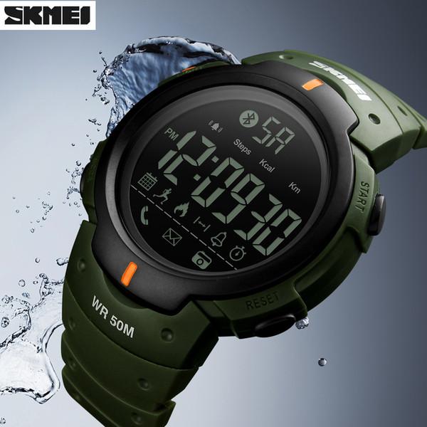 Zk20 Smartwatch erkek Spor Akıllı İzle Marka Moda Pedometre Uzaktan Kamera Kalori Bluetooth Hatırlatma Dijital Saatı