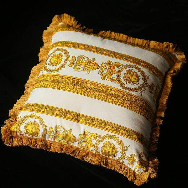almofada ouro branco
