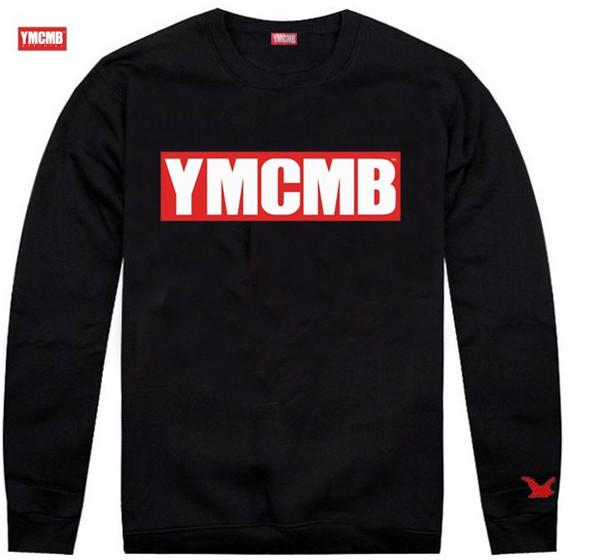 Frete grátis s-5xl Chegada Moda Masculina ymcmb clothing esportes dos homens casuais hoodies moletons masculino grosso camisola gola redonda