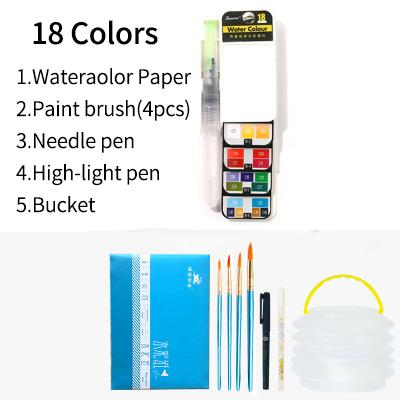 18 Colors set