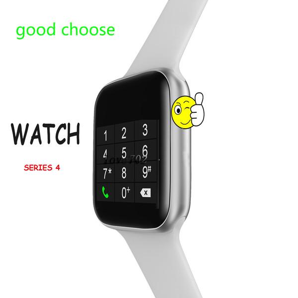 W34 44mm Bluetooth çağrı Akıllı İzle 1.5 ekran EKG Nabız Smartwatch ios Android telefon için erkekler kadınlar PK goophone izle 4 X GT88