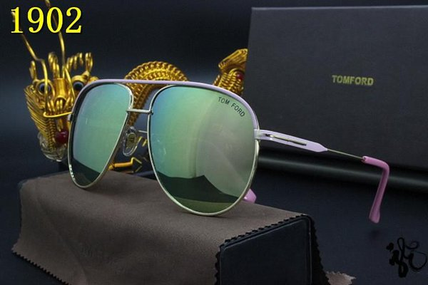Brand Designer Sunglasses High Quality Metal Hinge Sunglasses Men Glasses Women Sun glasses UV400 lens Unisex with cases and box 618-5