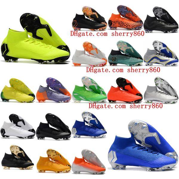 034fd0c07 2019 mens soccer cleats Mercurial Superfly VI 360 Elite Neymar FG soccer  shoes outdoor cr7 football