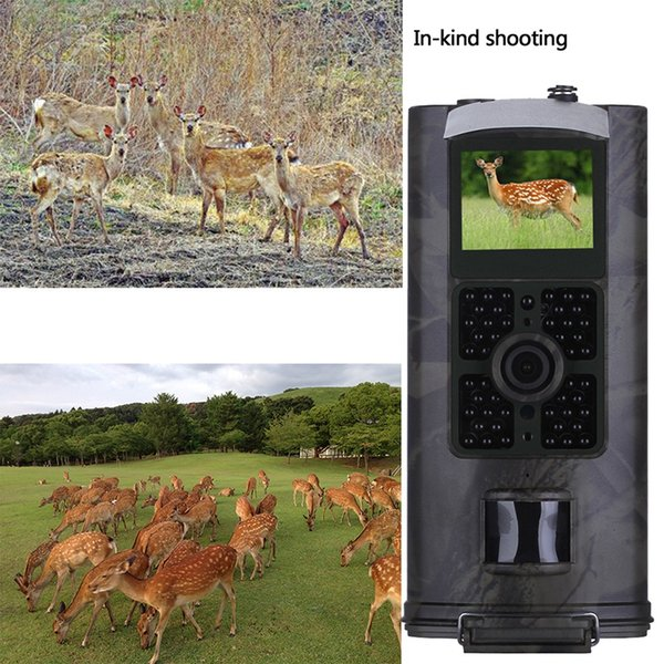 15d40a90cb8f9 Trail Camera 14MP 1080P Game Cameras With Night Vision Motion Activated  Waterproof Wildlife Hunting Cam 120° Detection With 0.3s Trigger Amazon  Trail ...