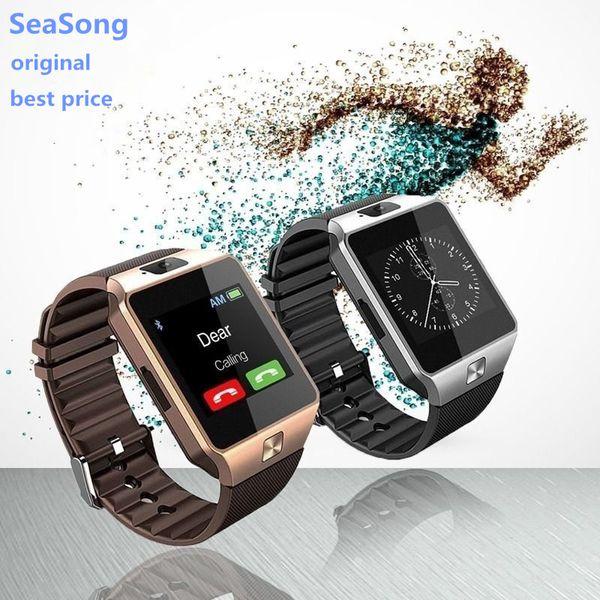 DZ09 Relógio Inteligente para A Apple Teléfono Android Soporte TF SIM Smartwatch Reloj Inteligente PK GT08 U8 Wearable Inteligente Eletrônica E