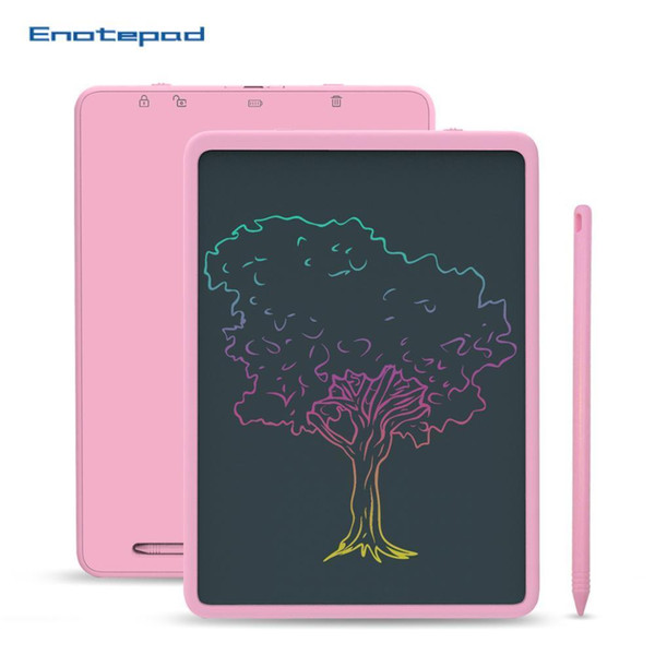 best selling 11 Inch LCD Writing Tablet Non-toxic Doodle Pad Office and School Reuse intelligent Smart Business Tablet Portable White Black