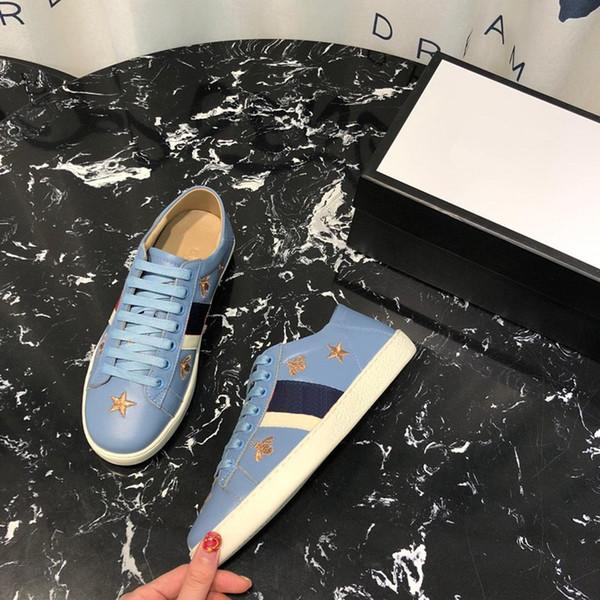 Scarpe air designer scarpe piattaforma donna designer donna scarpe lusso ape stella filo d'oro ricamo dimensioni 35-44