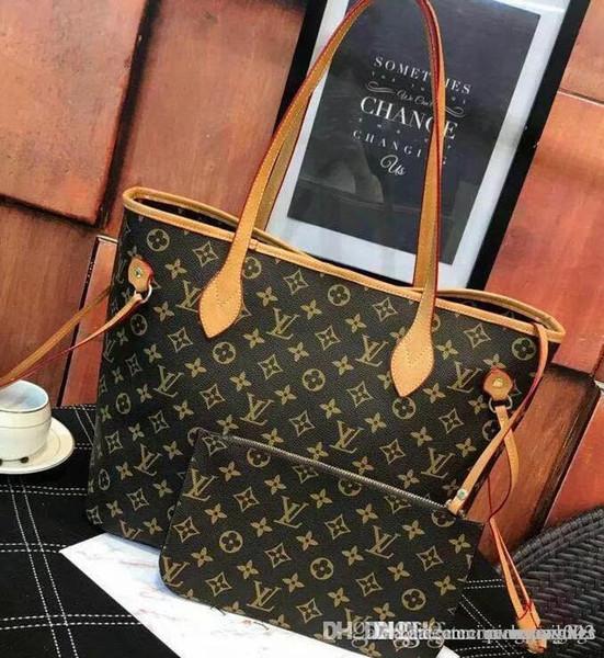 Famoso marchio Totes borse donne di lusso Borse in vera pelle Moda donna Borsa all'ingrosso di fabbrica In magazzino Immagine reale Shopping libero