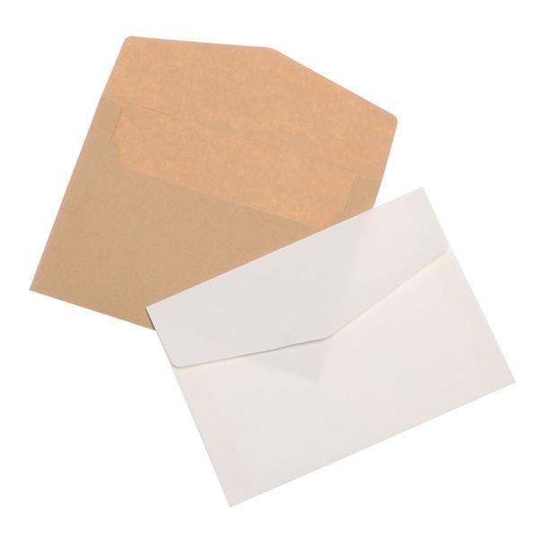 10pcs Kraft Paper Envelope Letter Invitation Postcards Paper Letter Set Vintage