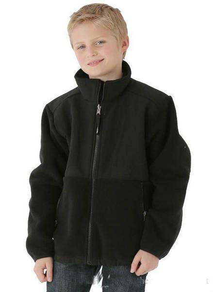 marca north Fleece Jacket Niños y niñas Fleece Slim Jacket Invierno Ropa abrigada para niños Fleece Winter Jacket Abrigos S-XXL