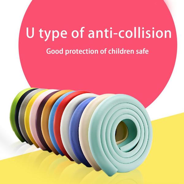 2M U Forma extra spessa per mobili Protezione per angoli del tavolo Protezioni per la scrivania Protezioni per paraurti di sicurezza per bambini