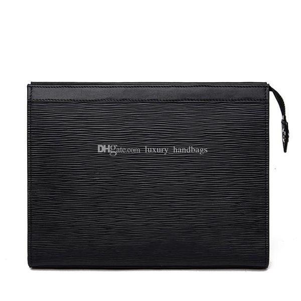 Designer Wallet Mens Toiletry Pouch 26 Cm Women Wallets Men Zipper Designer Handbags Purses 47542 Come With Box Dust Bag Care Booklet