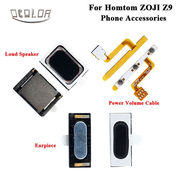 ocolor For Homtom ZOJI Z9 Power Volume Cable Earpiece For Homtom ZOJI Z9 Loud Speaker Repairing Fixing Part Replacement