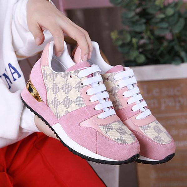 Scarpe moda per le donne Run Away Sneakers Stringate Chaussures de femme Scarpe da ginnastica Scarpe da donna Sport Zapatos de mujer W # 08 Modo caldo di vendita