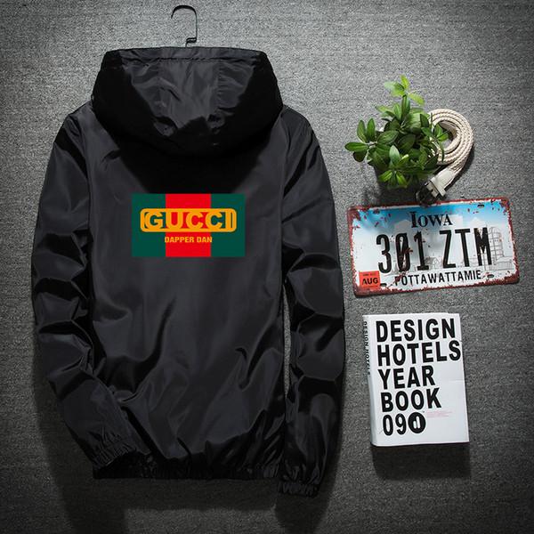 top popular 2019 Hooded Jackets Men New Patchwork Color Block Pullover Jacket Fashion Tracksuit Coat Men Hip Hop Streetwear Jacket Men 2019
