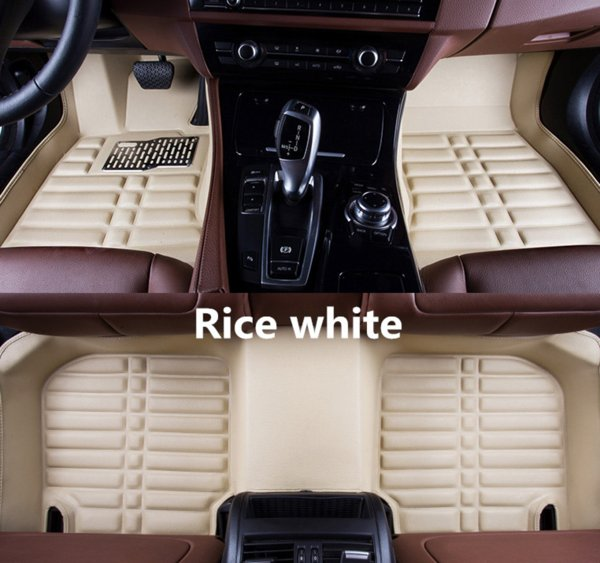 top popular For Ford Fusion 2013-2018 Car Floor Mats Front & Rear Liner Accessories Non-slip waterproof leather Carpets Auto Luxury sedan Pads 2019