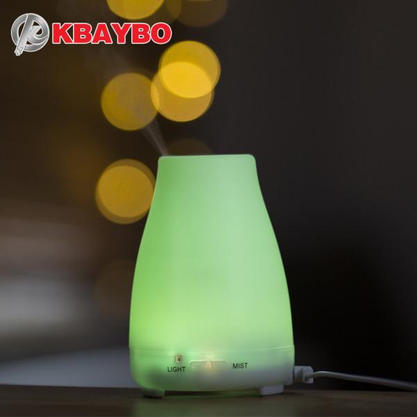 оптовых аромат эфирного масла диффузора ароматерапия воздух увлажнитель холодный туман мейкер с дистанционным управлением LED ночника для дома