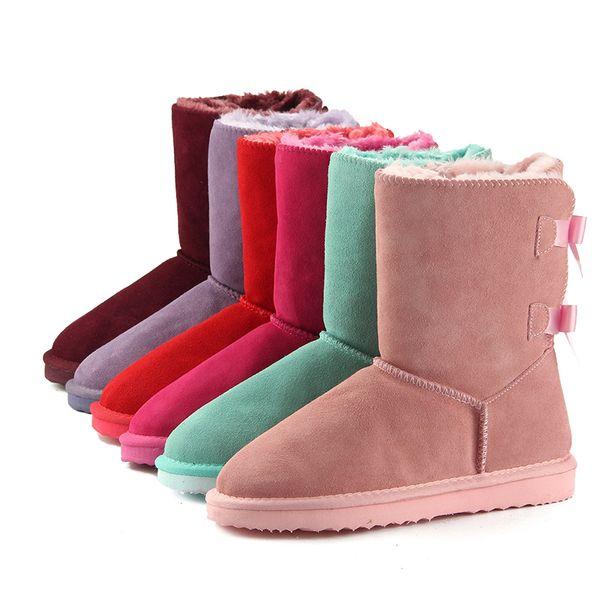 433a157c214 2018 Hot Sale Women Snow Uggs Ugglis Boots Australia Cow Suede ...