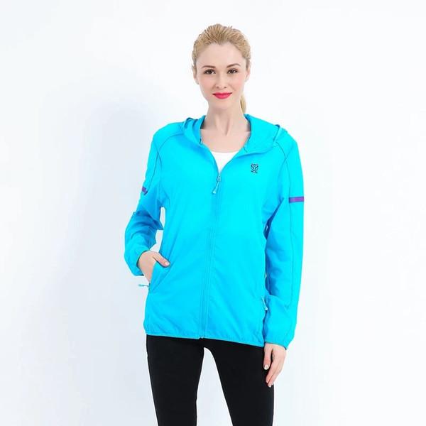 Mulheres de golfe protetor solar jaqueta com capuz projeto verão outwear casaco uv prova sports jersey golfe casaco de pele sportswear roupas lady top