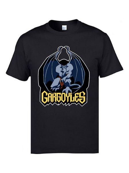 Gargoyles Golias Top camisetas Anime Projeto engraçado do Demogorgon camiseta Novidade T-shirts Mens Tees