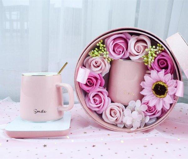 coffret cadeau fleur de savon smile_350-400ml