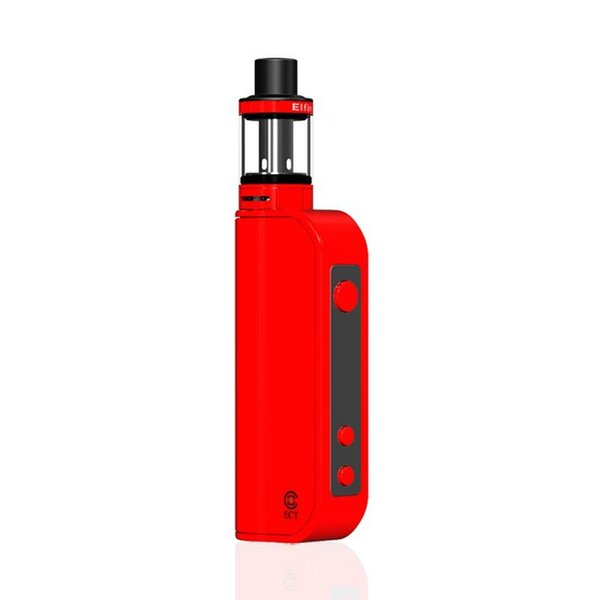 ECT Traveler 50w E Cigarette Vaporizer Box Mod Kit Electronic Cigarette 0.3ohm 1800mAh Adjustable Wattage 20w 30w 50w No Leakage