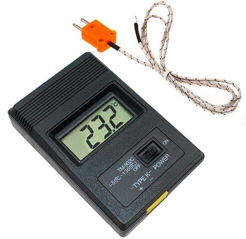 Digital LCD K Type Thermometer Temperature Single Input Pro Thermocouple Probe Detector Sensor Reader Meter TM 902C