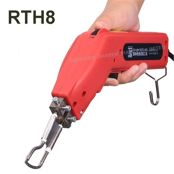 top popular 220 V 100 W Durable and Practical of the Strict of Banner Hot Heating Cutter Hand Rope Hot Heat fabric Knife Cutter Tool 2020