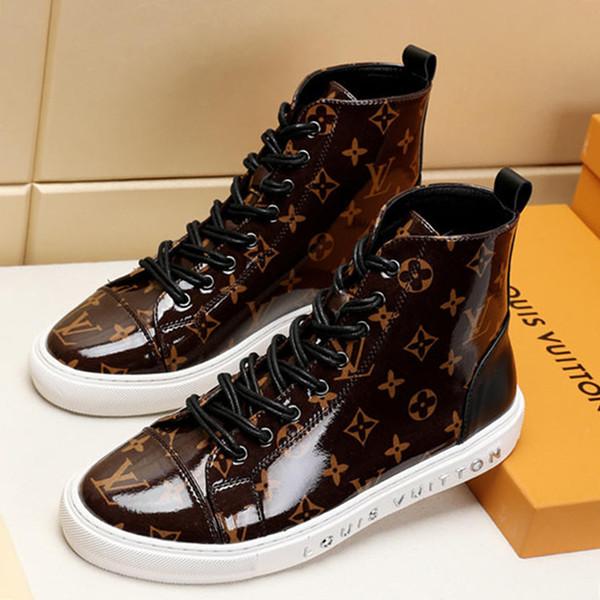 Sonbahar Kış Erkek Ayakkabı Bot 2019 Moda Ayak Bileği Çizmeler Menşe kutu ile Erkekler için Bottes Hommes W # 22 Chaussures dökün hommes Sıcak Satış Mens Ayakkabı