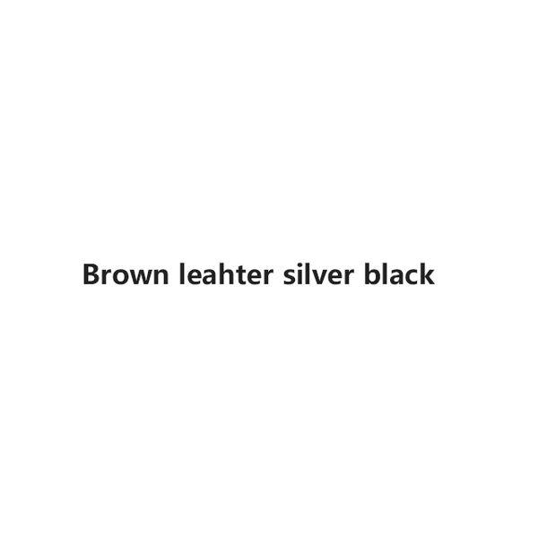 Brown argent noir
